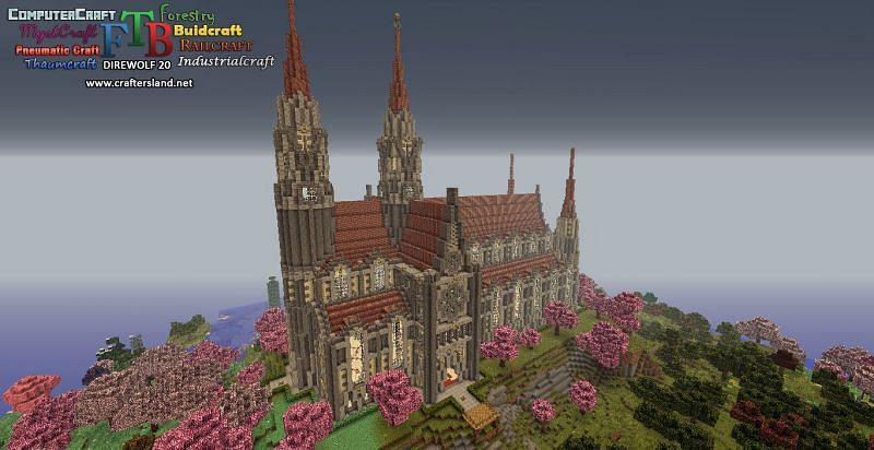 Crafters Land is a modded Minecraft server hub that offers a huge variety of modded game modes