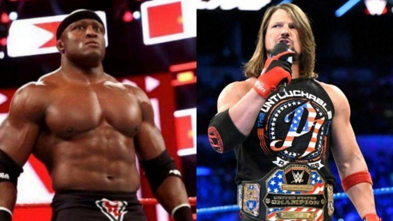 WWE सुपरस्टार्स बॉबी लैश्ले और एजे स्टाइल्स अपनी उम्र से काफी जवान नजर आते हैं।