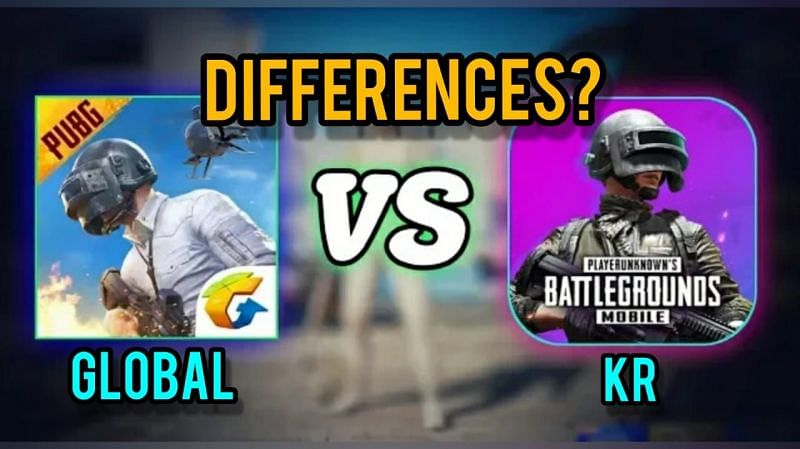 Comparing two PUBG Mobile iterations (Image via Sportskeeda)