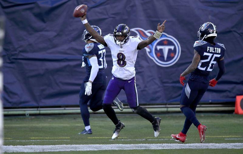 NFL Wild-Card Round - Baltimore Ravens vs Tennessee Titans