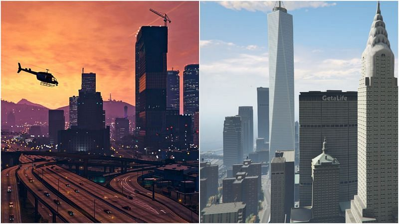 The GTA series has evolved with each release over the years (Image via GTA5mods, Segmentnext)
