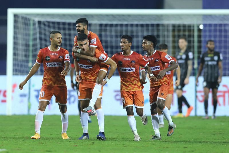 FC Goa will look to cement their place in the top four with a win over Kerala Blasters FC. (Image: ISL)
