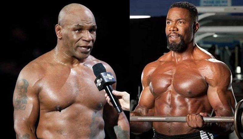 Mike Tyson (left); Michael Jai White (right)