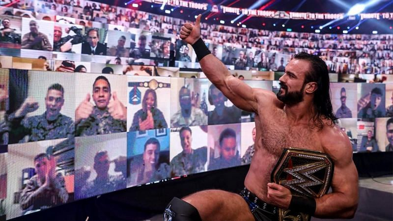 Drew McIntyre topped the first WWE RAW Tier List.