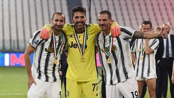 The trio has won a plethora of Serie A titles during their illustrious careers.