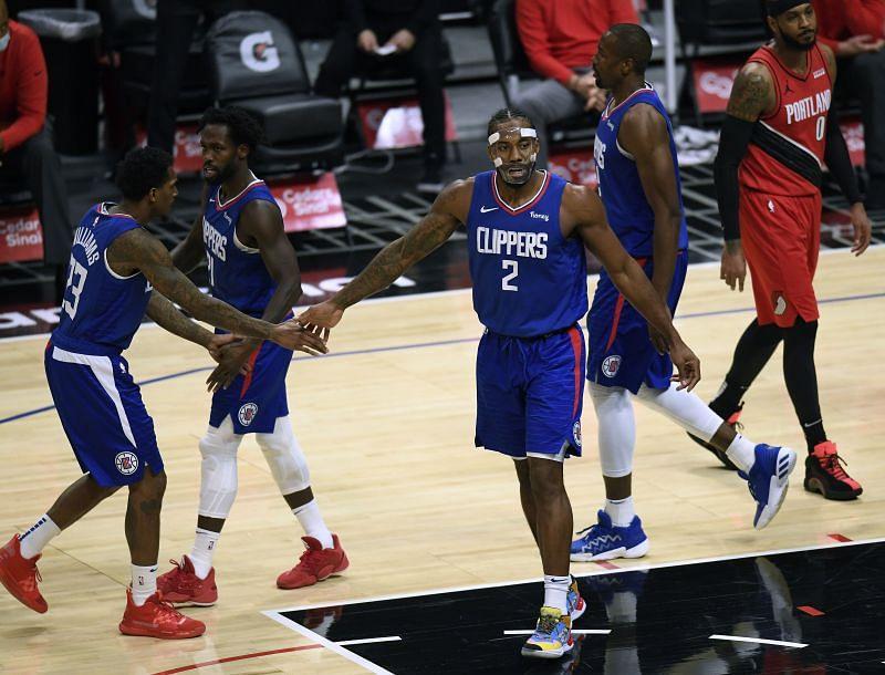 Portland Trail Blazers v Los Angeles Clippers.
