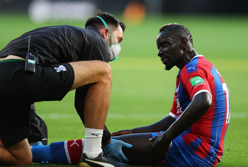 Crystal Palace have a depleted squad