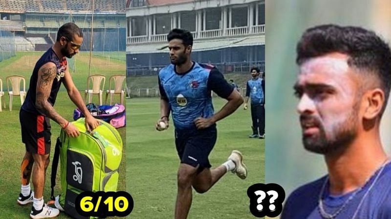 Many Indian cricket team stars were in action today