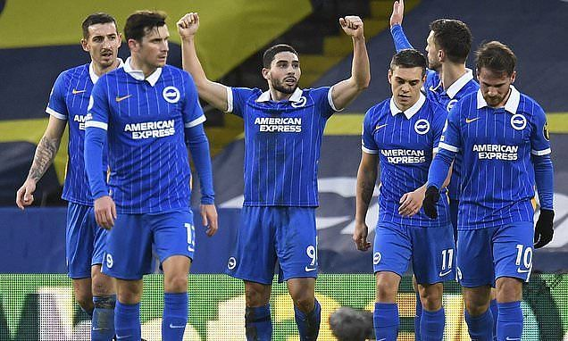 Brighton are looking to build on their recent Leeds United victory