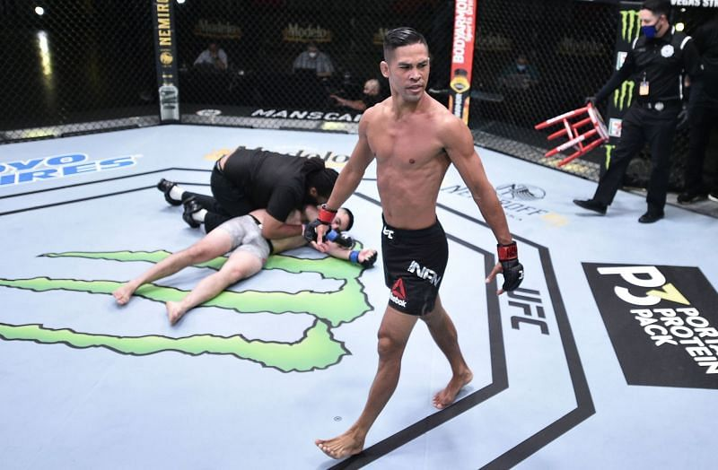Tyson Nam may not be too far away from a UFC title shot.