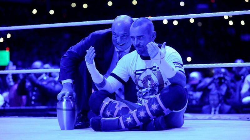 Paul Heyman and CM Punk