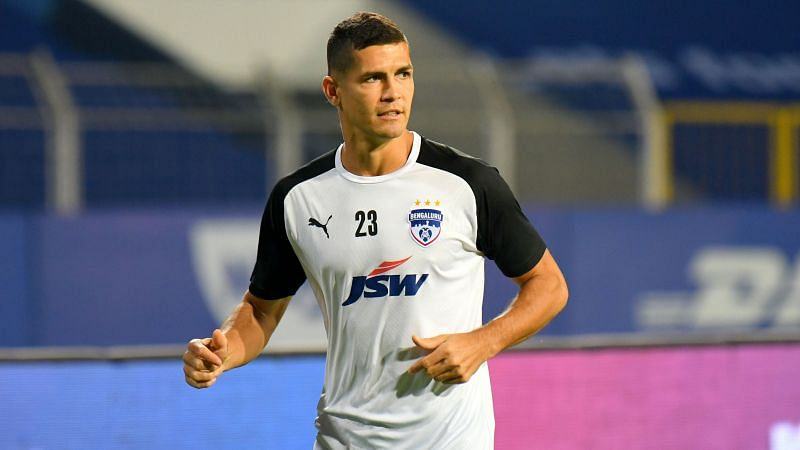 Cleiton Silva has been used in multiple roles by the former head coach Carles Cuadrat. (Image: Bengaluru FC)