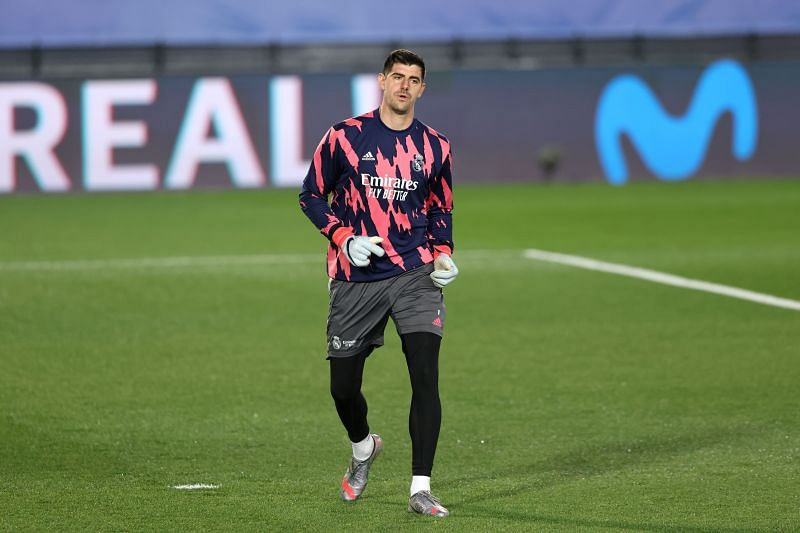 Real Madrid goalkeeper Thibaut Courtois part of Inter Madrid