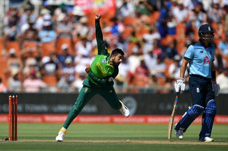 Tabraiz Shamsi has played 22 ODIs for South Africa