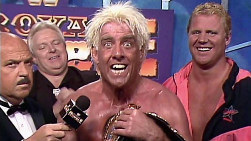 Ric Flair won the 1992 Royal Rumble
