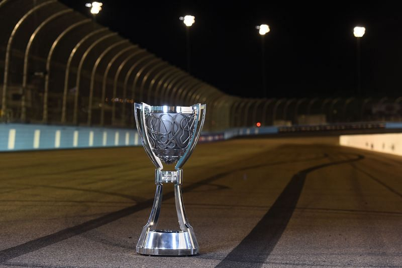 The Bill France Trophy. (Photo by Jared C. Tilton/Getty Images