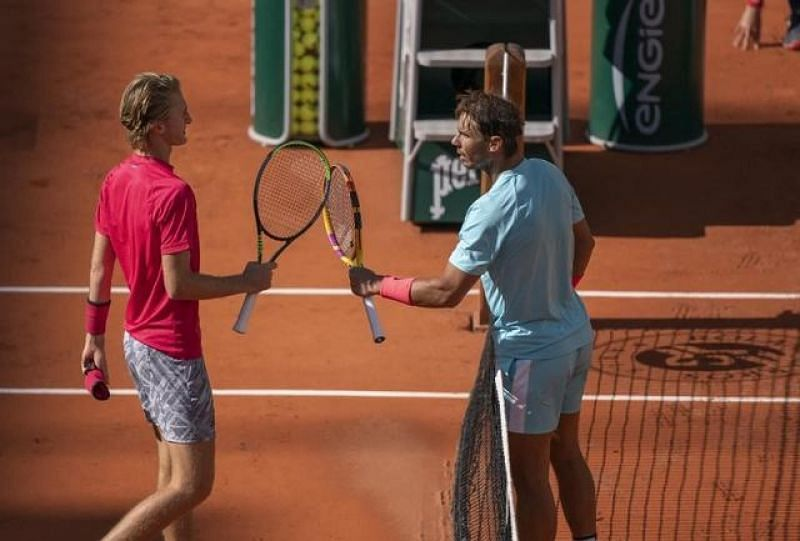 Sebastian Korda lost to Rafael Nadal in the 4th Round of the 2020 French Open