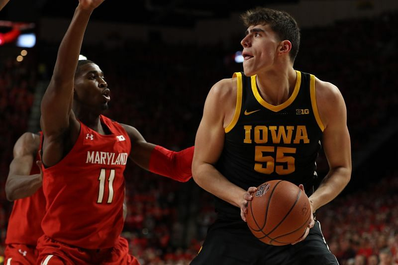 The Iowa Hawkeyes and the Maryland Terrapins will face off at Xfinity Center on Thursday night