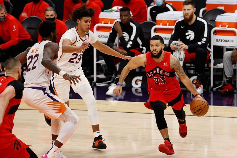 Fred VanVleet will be expected to lead the Toronto Raptors attack from the front against the Portland Trail Blazers