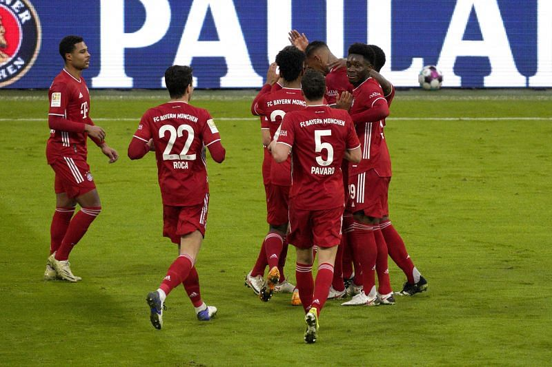 Bayern Munich beat Hoffenheim to go further clear at the top.