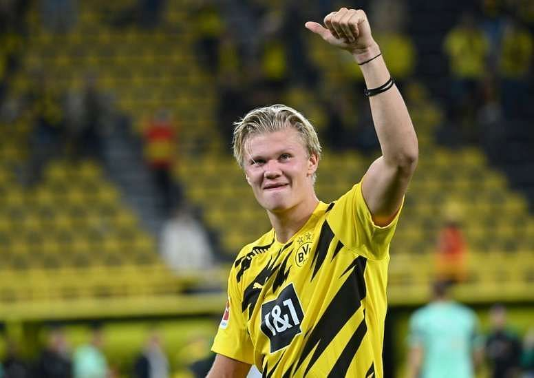 Erling Haaland is born to score goals.
