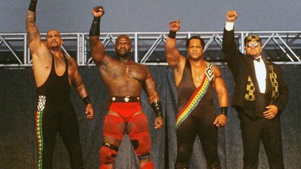 Ahmed Johnson joined The Nation of Domination