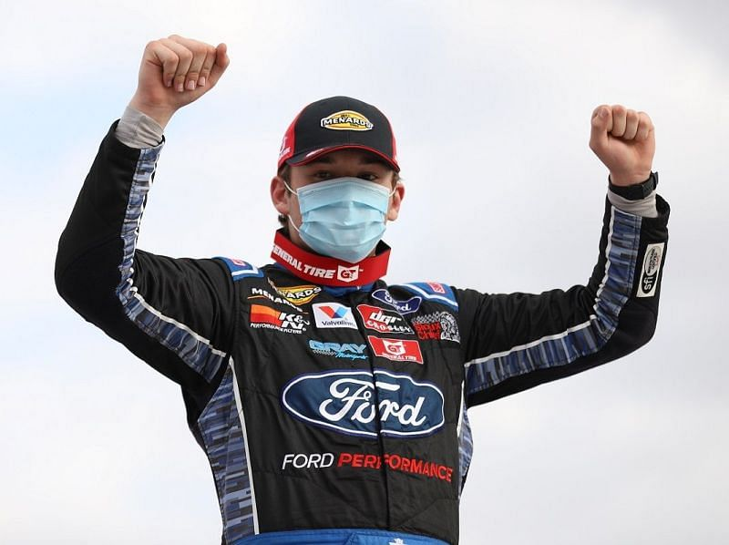 What does the future hold for NASCAR driver Taylor Gray?