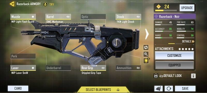 Best ARs in Call of Duty Mobile (Image via COD Mobile)