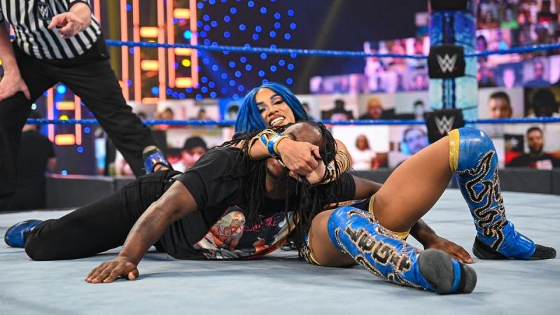 Banks and Regi put up a great match on SmackDown