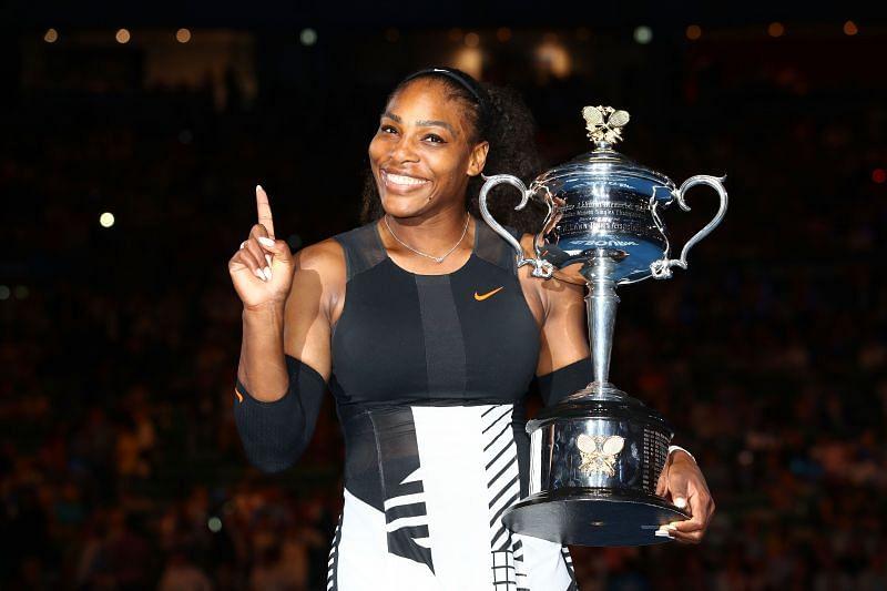 Serena Williams at the 2017 Australian Open - Day 13
