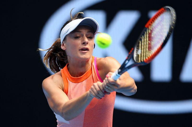Ana Bogdan made her first major breakthrough at Melbourne Park