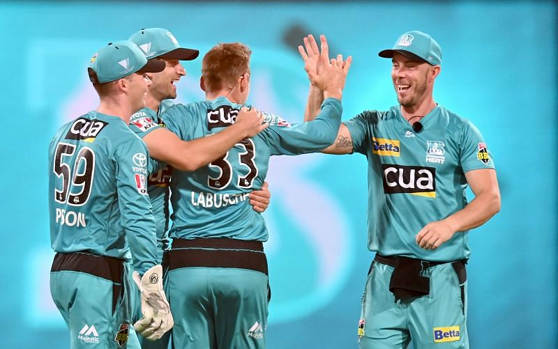 Marnus Labuschagne and the Brisbane Heat are finding their form at the right time