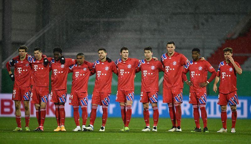 Bayern Munich lost to Holstein Kiel on penalties in the DFB Pokal in midweek