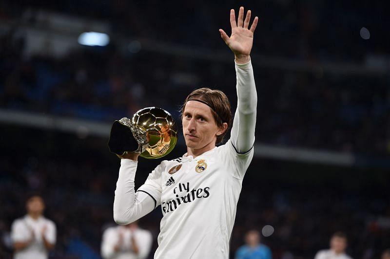 Luka Modric lea Croatia to the 2018 FIFA World Cup final.