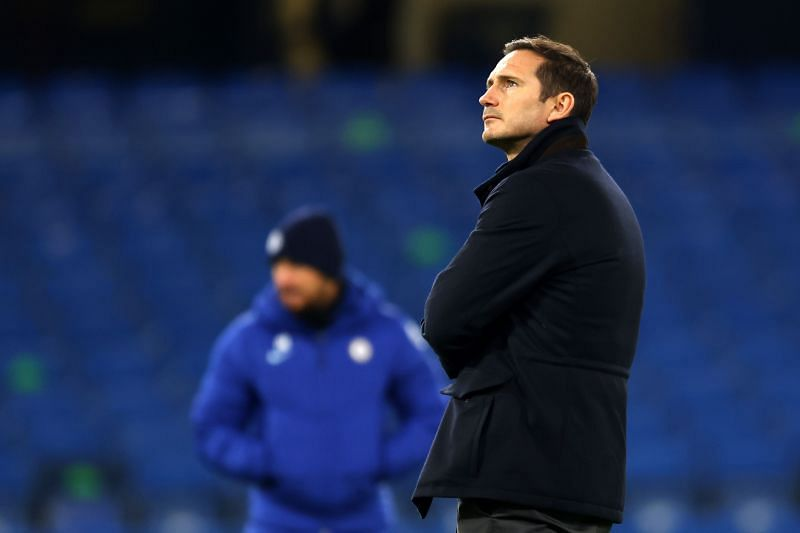 Lampard faces an uncertain future at Chelsea