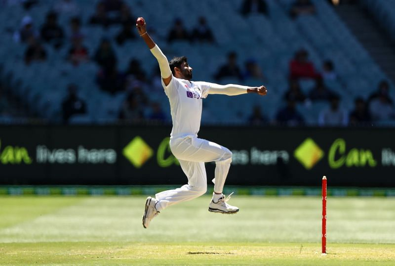 Jasprit Bumrah bowled 14 overs on the first day of the Sydney Test.