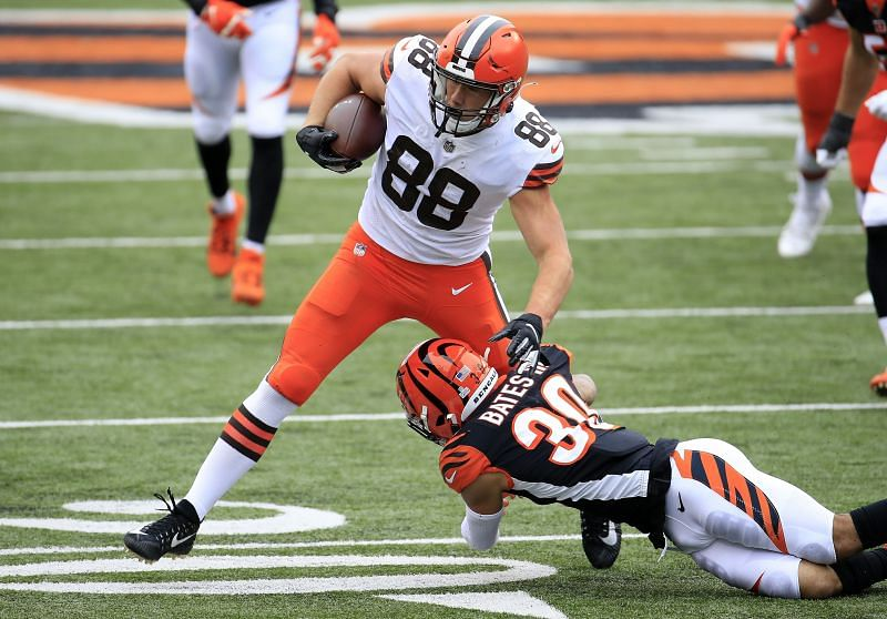 Cleveland Browns TE Harrison Bryant