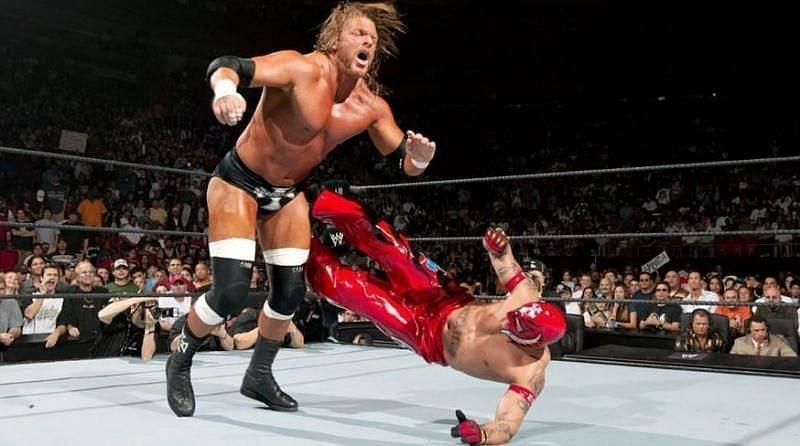 The 2006 Royal Rumble was the first for Chris Masters