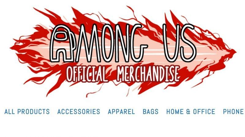 (Image via Innersloth) Official merch for Among Us is available now
