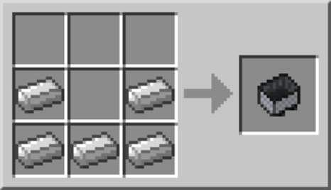 Crafting a Minecart
