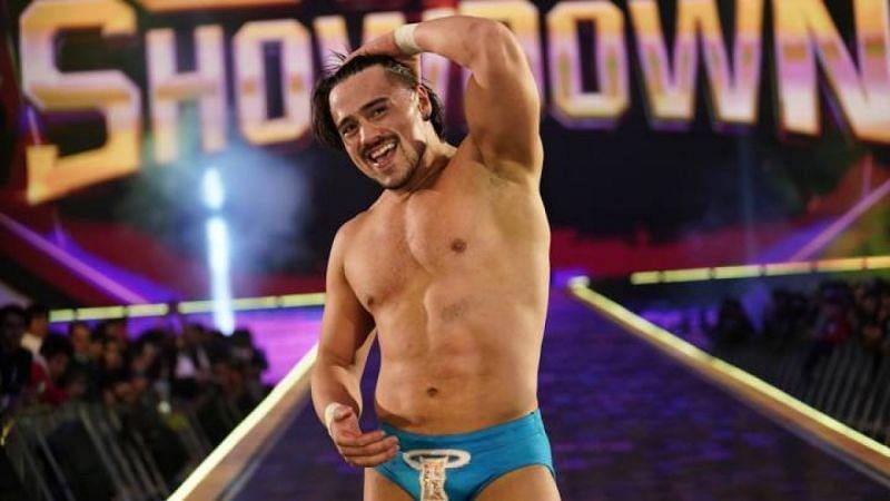 Angel Garza is your new WWE 24/7 Champion