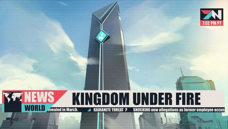 Kingdom under fire Image by Riot Games