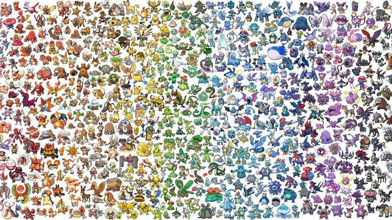 Pokemon names have only gotten more interesting throughout the years (Image via Game Freak)