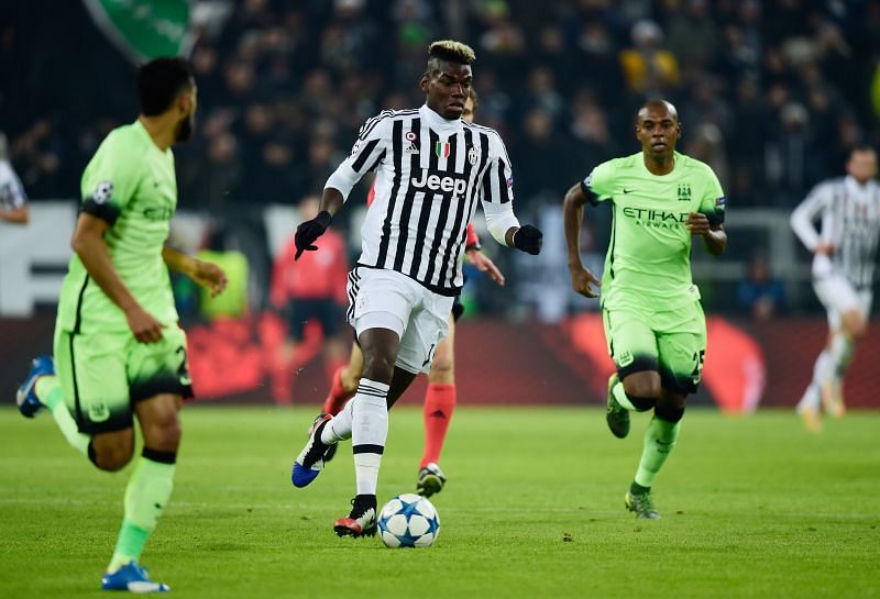Pogba represented Juventus in the past