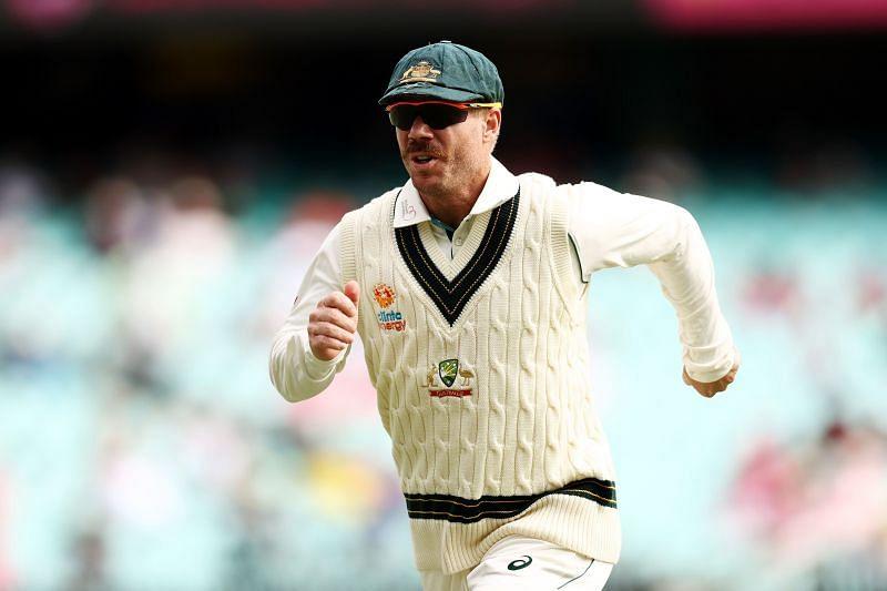 David Warner managed scores of 5 & 13 in his comeback Test.