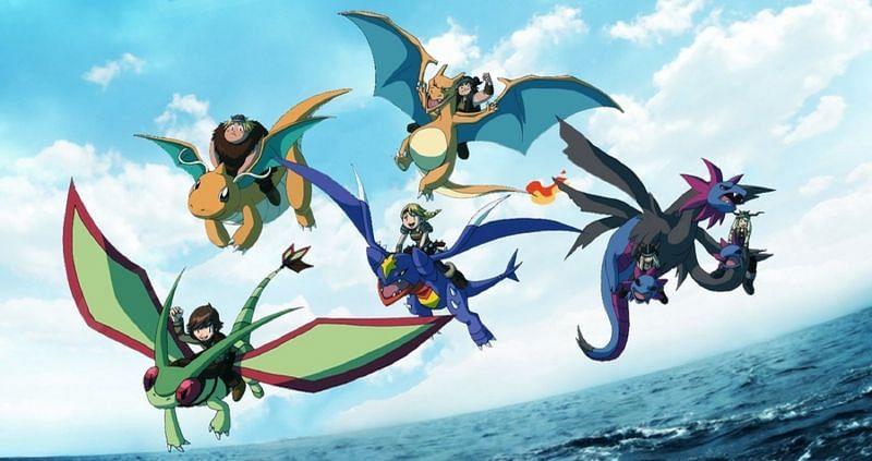 Dragon-types are popular in Pokemo(Image via The Pokemon Company)
