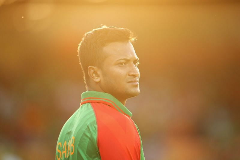 Shakib Al Hasan was banned by the ICC in October 2019