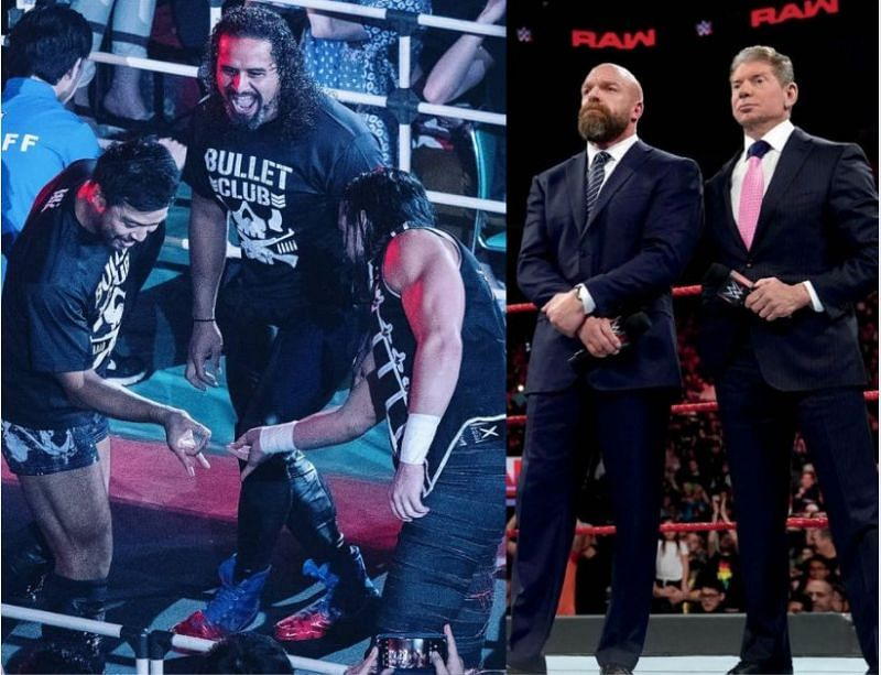 Could the actual Bullet Club start working alongside WWE?