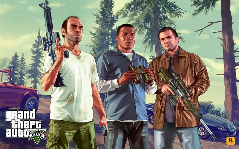 GTA 5 is not available on mobile platforms yet (Image via Rockstargames.com)