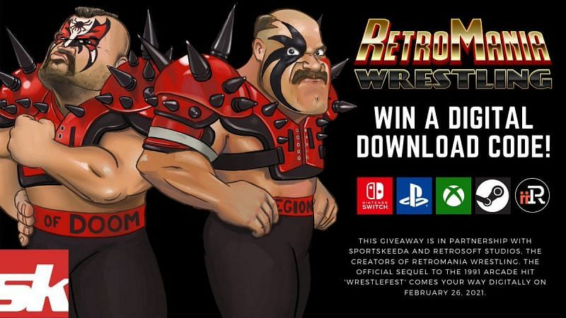 Sportskeeda has teamed up with Retrosoft Studios for a contest you can